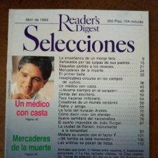 Coleccionismo de Revistas y Periódicos: REVISTA SELECCIONES READER'S DIGEST ABRIL 1993 - OFI15J. Lote 221745256