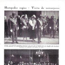 Coleccionismo de Revistas y Periódicos: 1930 HOJA REVISTA MADRID VISITA PRINCPES DE JAPÓN TAKAMATSU CON INFANTES BEATRIZ Y ALFONSO. Lote 221770521