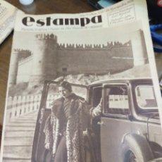 Coleccionismo de Revistas y Periódicos: ESTAMPA-REVISTA GRÁFICA-N°358 NOVIEMBRE 1934,CONCHITA PIQUER VA A COMPRARSE UN CASTILLO. Lote 221771837
