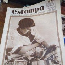 Coleccionismo de Revistas y Periódicos: ESTAMPA-REVISTA GRÁFICA-N°280 MAYO 1933,HOY LLEGAN A ESPAÑA LAS MISSES EXTRANJERAS,. Lote 221773188