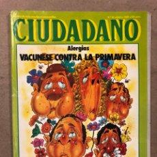 Coleccionismo de Revistas y Periódicos: CIUDADANO N° 92 (1980). ANÁLISIS FORD GRABADA, AMPLIFICADORES DE ALTA FIDELIDAD,.... Lote 221773578