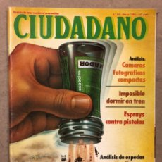 Coleccionismo de Revistas y Periódicos: CIUDADANO N° 94 (1980). ANÁLISIS RENAULT 14, ANÁLISIS CAMARAD FOTOGRÁFICAS COMPACTAS,.... Lote 221773892