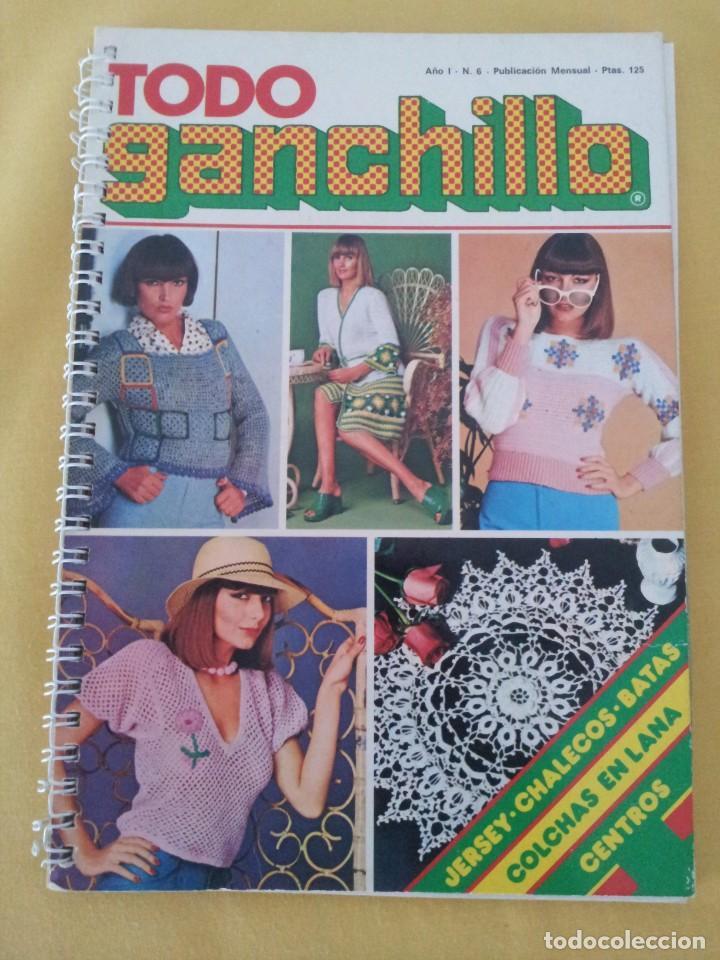 Coleccionismo de Revistas y Periódicos: REVISTA MENSUAL ENCICLOPEDIA DE GANCHILLO (TODO GANCHILLO) 13 REVISTAS - Foto 2 - 221781855