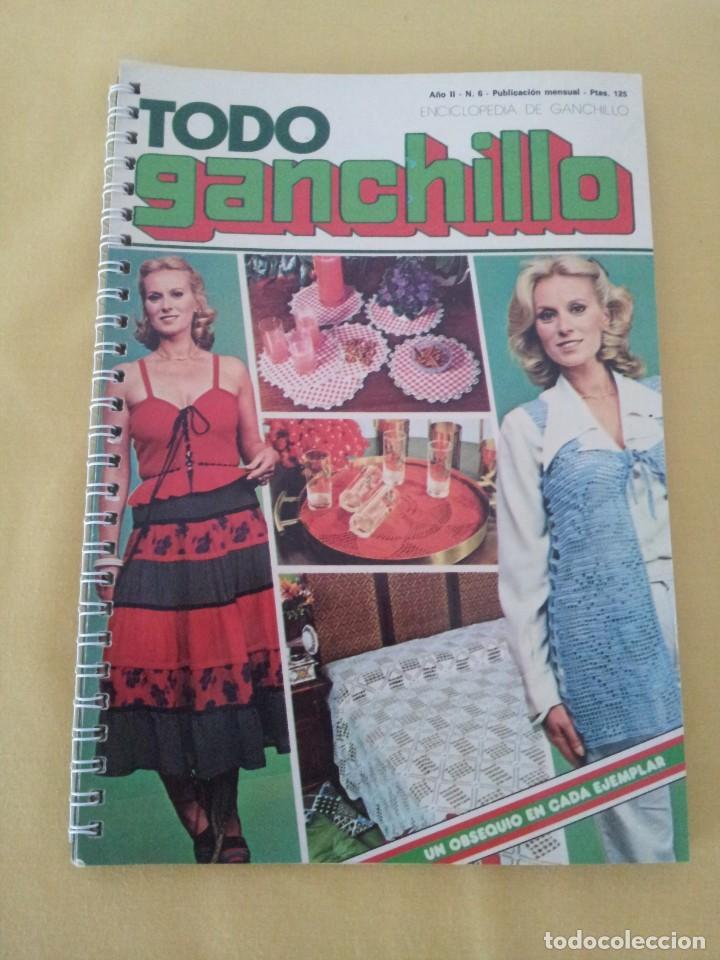 Coleccionismo de Revistas y Periódicos: REVISTA MENSUAL ENCICLOPEDIA DE GANCHILLO (TODO GANCHILLO) 13 REVISTAS - Foto 4 - 221781855