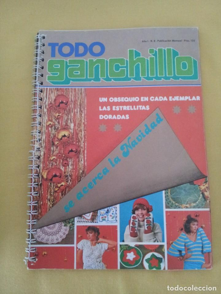 Coleccionismo de Revistas y Periódicos: REVISTA MENSUAL ENCICLOPEDIA DE GANCHILLO (TODO GANCHILLO) 13 REVISTAS - Foto 6 - 221781855