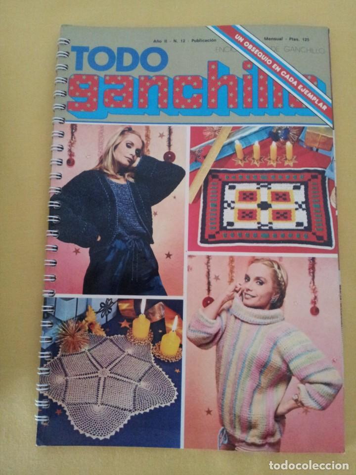 Coleccionismo de Revistas y Periódicos: REVISTA MENSUAL ENCICLOPEDIA DE GANCHILLO (TODO GANCHILLO) 13 REVISTAS - Foto 8 - 221781855