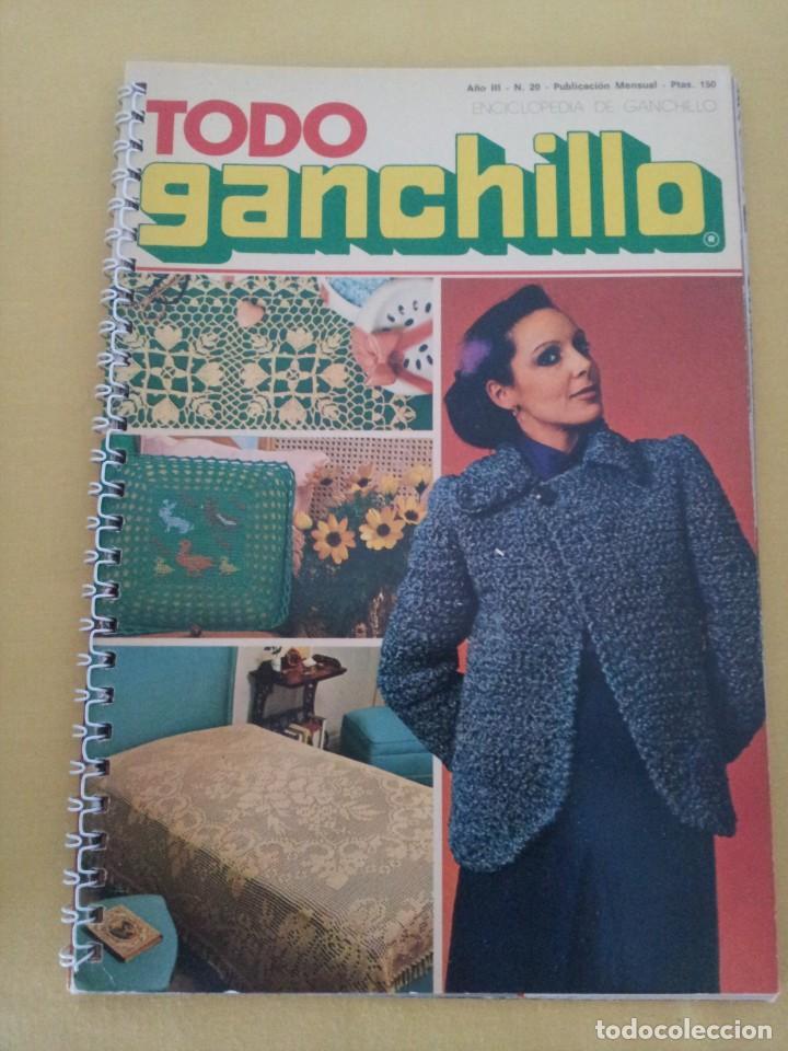Coleccionismo de Revistas y Periódicos: REVISTA MENSUAL ENCICLOPEDIA DE GANCHILLO (TODO GANCHILLO) 13 REVISTAS - Foto 14 - 221781855