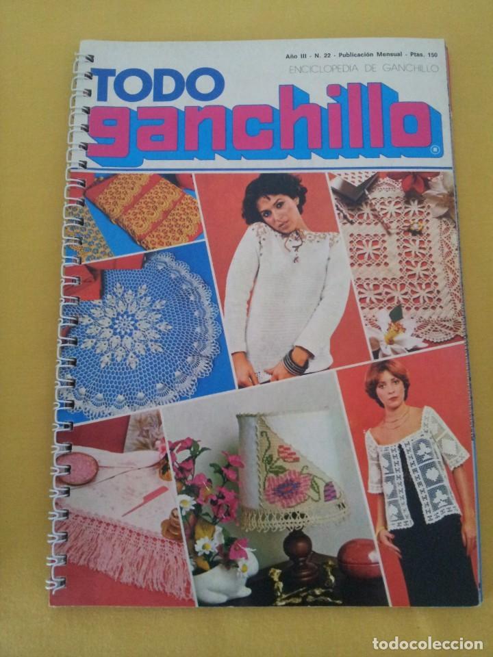 Coleccionismo de Revistas y Periódicos: REVISTA MENSUAL ENCICLOPEDIA DE GANCHILLO (TODO GANCHILLO) 13 REVISTAS - Foto 16 - 221781855