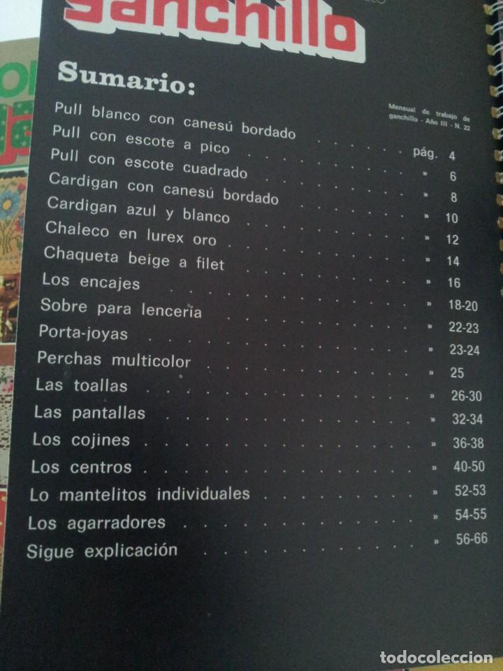 Coleccionismo de Revistas y Periódicos: REVISTA MENSUAL ENCICLOPEDIA DE GANCHILLO (TODO GANCHILLO) 13 REVISTAS - Foto 17 - 221781855