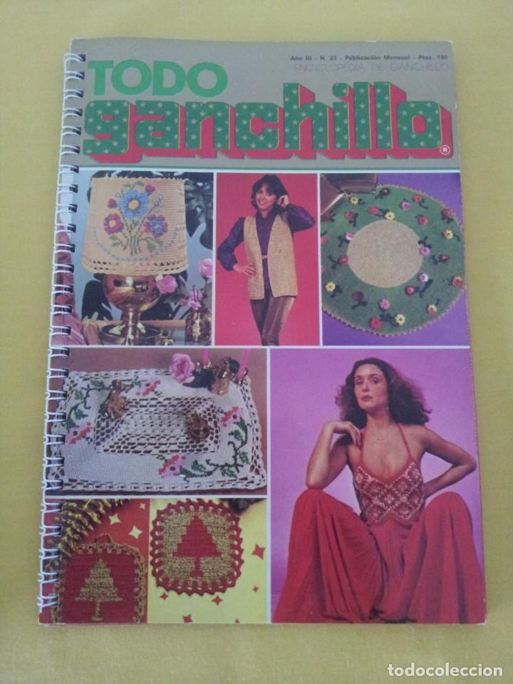 Coleccionismo de Revistas y Periódicos: REVISTA MENSUAL ENCICLOPEDIA DE GANCHILLO (TODO GANCHILLO) 13 REVISTAS - Foto 18 - 221781855