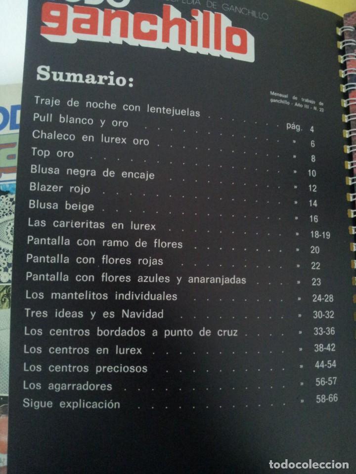 Coleccionismo de Revistas y Periódicos: REVISTA MENSUAL ENCICLOPEDIA DE GANCHILLO (TODO GANCHILLO) 13 REVISTAS - Foto 19 - 221781855