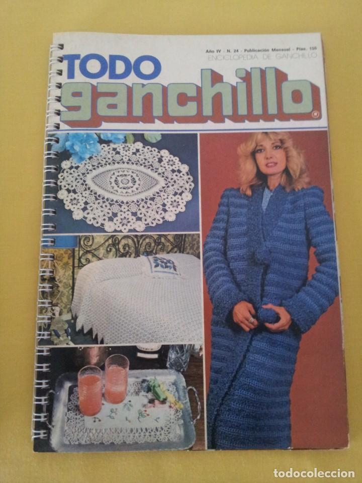 Coleccionismo de Revistas y Periódicos: REVISTA MENSUAL ENCICLOPEDIA DE GANCHILLO (TODO GANCHILLO) 13 REVISTAS - Foto 20 - 221781855