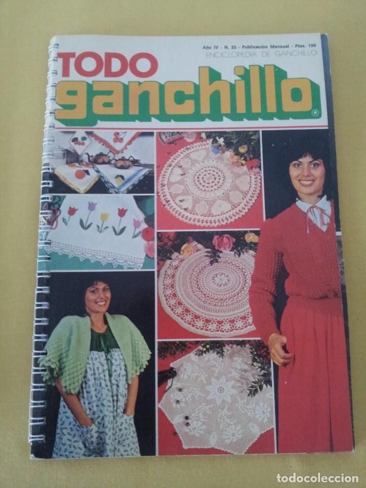 Coleccionismo de Revistas y Periódicos: REVISTA MENSUAL ENCICLOPEDIA DE GANCHILLO (TODO GANCHILLO) 13 REVISTAS - Foto 22 - 221781855