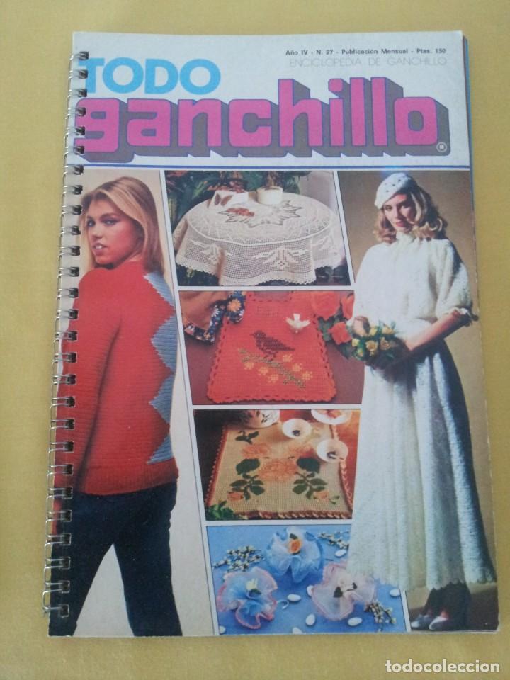 Coleccionismo de Revistas y Periódicos: REVISTA MENSUAL ENCICLOPEDIA DE GANCHILLO (TODO GANCHILLO) 13 REVISTAS - Foto 24 - 221781855