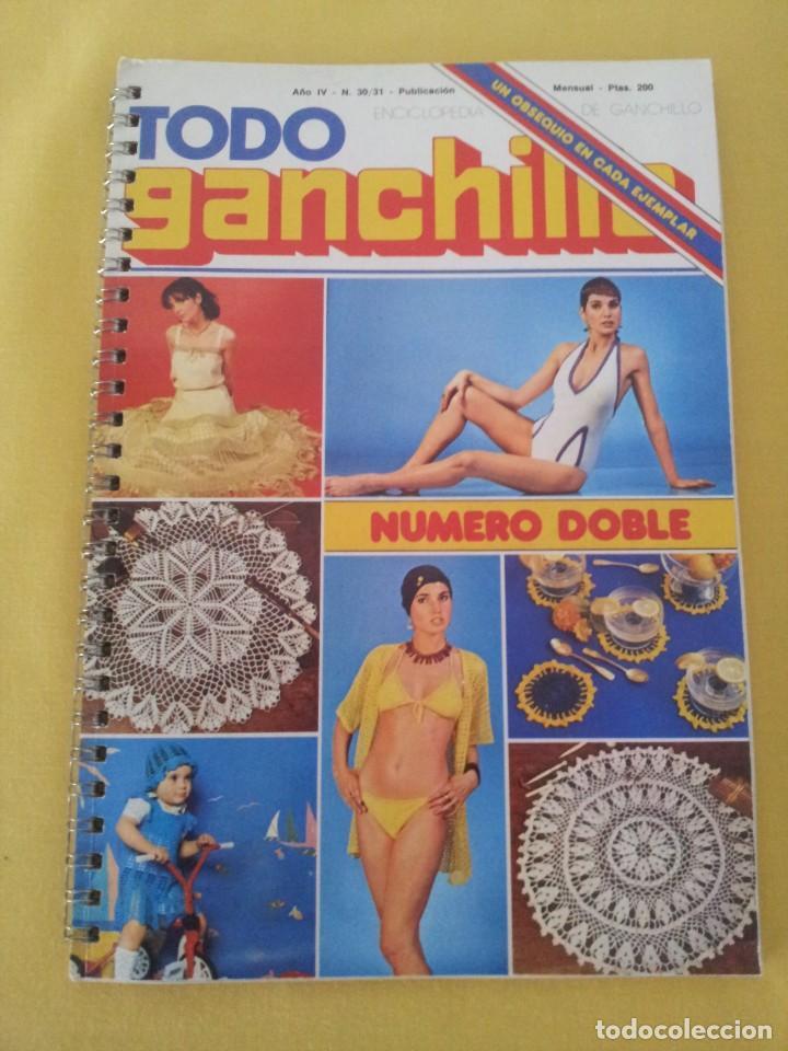 Coleccionismo de Revistas y Periódicos: REVISTA MENSUAL ENCICLOPEDIA DE GANCHILLO (TODO GANCHILLO) 13 REVISTAS - Foto 26 - 221781855
