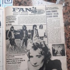 Coleccionismo de Revistas y Periódicos: ROD STEWART DONNA SUMMER LED ZEPPELIN. Lote 221846533
