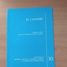 Coleccionismo de Revistas y Periódicos: EL LAICISMO. Lote 221851508
