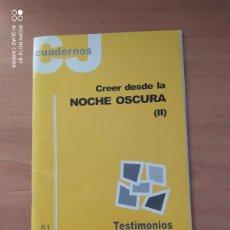 Coleccionismo de Revistas y Periódicos: CUADERNOS CJ. Lote 221851632
