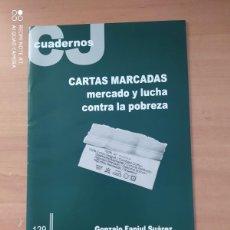 Coleccionismo de Revistas y Periódicos: CUADERNOS CJ. Lote 221859396