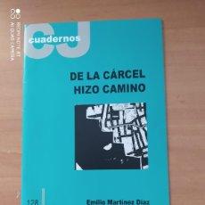 Coleccionismo de Revistas y Periódicos: CUADERNOS CJ. Lote 221859493