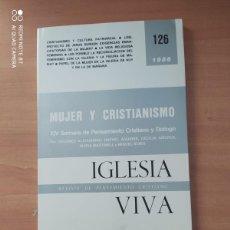 Coleccionismo de Revistas y Periódicos: IGLESIA VIVA. Lote 221859523