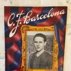 Coleccionismo de Revistas y Periódicos: C.F. BARCELONA 23 DE ENERO DE 1949 MUY BUEN ESTADO. Lote 221909445
