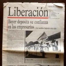 Coleccionismo de Revistas y Periódicos: PERIODICO - LIBERACION 1984 -. . .ENVIO INCLUIDO.. Lote 221945351