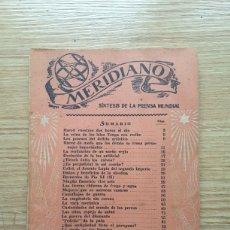 Coleccionismo de Revistas y Periódicos: MERIDIANO. SÍNTESIS DE LA PRENSA MUNDIAL. N° 12. AÑO 1943. Lote 221947666