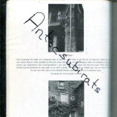 Coleccionismo de Revistas y Periódicos: PROGRAMA FESTA MAJOR DE 1994 SANT JULIA DE LORIA ANDORRA AMB EL NOM I FOTO DE TOTES LES CASES RAR. Lote 221949987