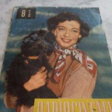 Coleccionismo de Revistas y Periódicos: RADIOCINEMA - ROSITA ARENAS-DIANA DORS-MARISA DE LEZA-MARTINE CAROL-AUDREY HEPBURN-SUSAN OLIVAN. Lote 221950398