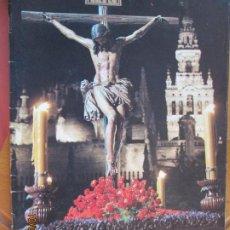 Coleccionismo de Revistas y Periódicos: SEMANA SANTA 1992 , EN LA CRUZ ENCLAVADO REVISTA SEMANA SANTA DE SEVILLA 1992 - 31 PAG. A TODO COLOR. Lote 221950773