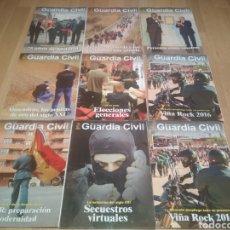 Coleccionismo de Revistas y Periódicos: LOTE DE 9 REVISTAS DE LA GUARDIA CIVIL OFICIALES. Lote 221951176