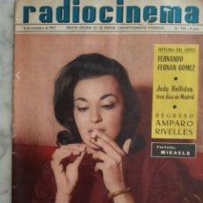 Coleccionismo de Revistas y Periódicos: RADIOCINEMA-MIKAELA-CARMEN SEVILLA-CONCHITA BAUTISTA-ANGEL ARANDA-MARISOL-MERCEDES ALONSO. Lote 221967532