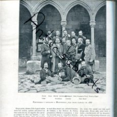 Coleccionismo de Revistas y Periódicos: REVISTA 1905 MISTRAL VICTOR BALAGUER SALA ROURE VIDAL LLORENTE MEYER FERRER BIGNE QUINTANA ROCA. Lote 222002560