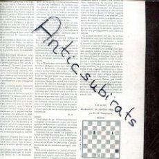 Coleccionismo de Revistas y Periódicos: REVISTA AÑO 1905 FUTBOL CLUB BARCELONA EN VILAFRANCA DEL PENEDES F. C. CARRERA MOTOS ABADAL. Lote 222003021