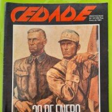 Coleccionismo de Revistas y Periódicos: REVISTA CEDADE. NO. 147, ENERO DE 1987. Lote 222003360