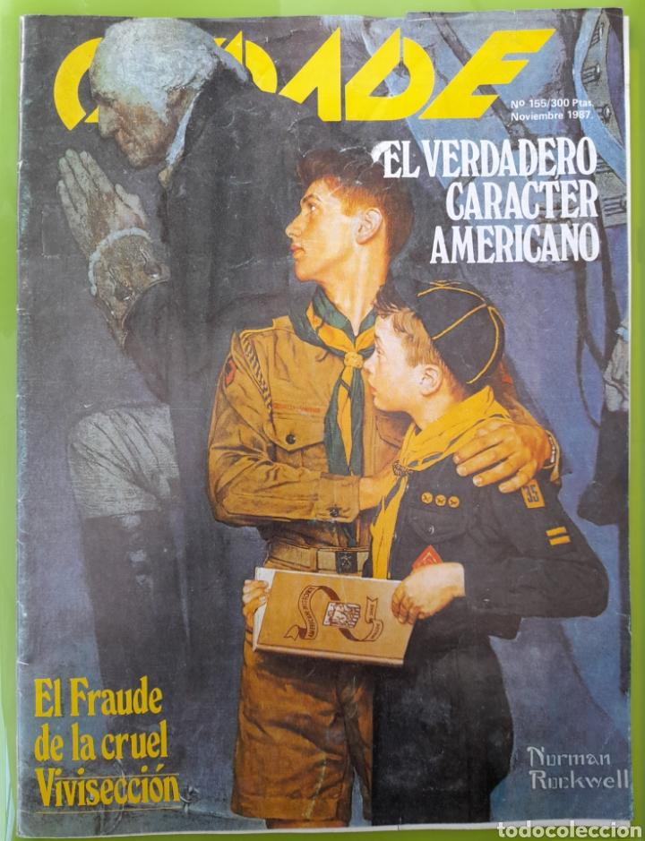 REVISTA CEDADE. NO.155 NOVIEMBRE DE 1987 (Coleccionismo - Revistas y Periódicos Modernos (a partir de 1.940) - Otros)