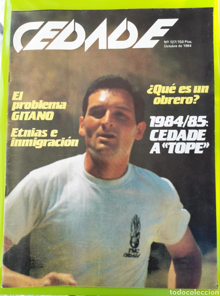 REVISTA CEDADE. NO. 127, OCTUBRE DE 1984 (Coleccionismo - Revistas y Periódicos Modernos (a partir de 1.940) - Otros)