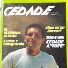 Coleccionismo de Revistas y Periódicos: REVISTA CEDADE. NO. 127, OCTUBRE DE 1984. Lote 222009710
