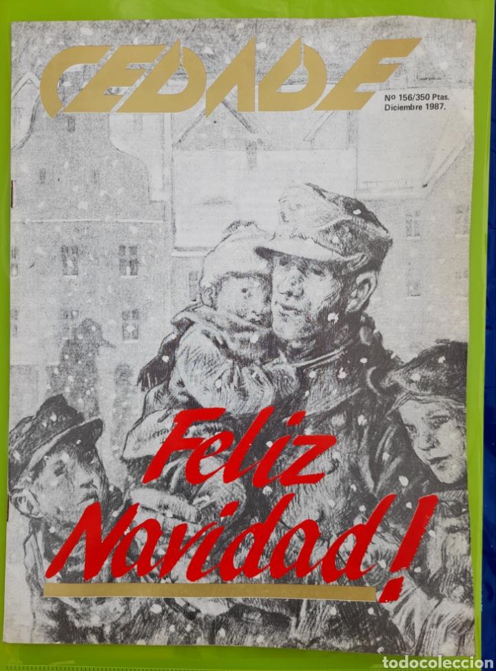 REVISTA CEDADE. NO. 156, DICIEMBRE 1987 (Coleccionismo - Revistas y Periódicos Modernos (a partir de 1.940) - Otros)