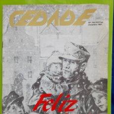 Coleccionismo de Revistas y Periódicos: REVISTA CEDADE. NO. 156, DICIEMBRE 1987. Lote 222012877