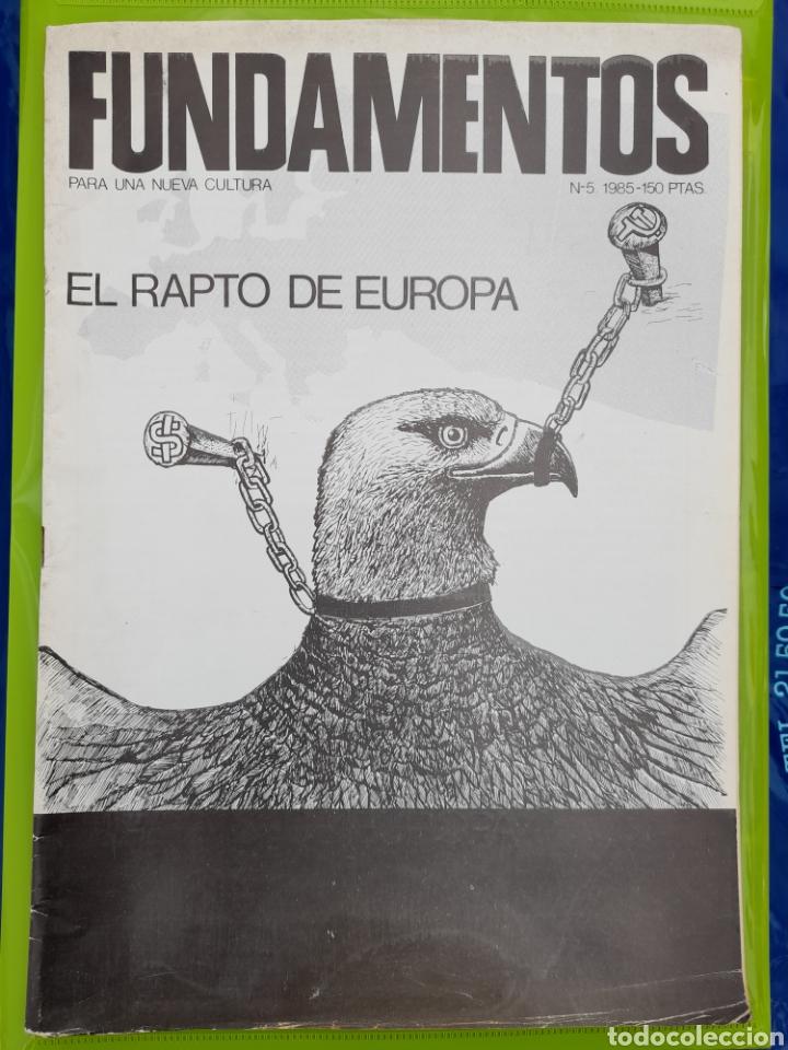 REVISTA FUNDAMENTOS PARA UNA NUEVA CULTURA. NO. 5 - 1985 (Coleccionismo - Revistas y Periódicos Modernos (a partir de 1.940) - Otros)