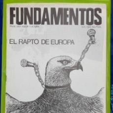 Coleccionismo de Revistas y Periódicos: REVISTA FUNDAMENTOS PARA UNA NUEVA CULTURA. NO. 5 - 1985. Lote 222014052