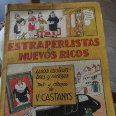 Coleccionismo de Revistas y Periódicos: LIBRO ESTRAPERLISTAS NUEVOS RICOS V, CASTANYS. Lote 222048235