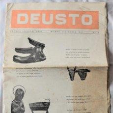 Coleccionismo de Revistas y Periódicos: DEUSTO Nº 2 - REVISTA UNIVERSITARIA - BILBAO, DICIEMBRE 1957 - EDITA UNIVERSIDAD DE DEUSTO. Lote 222054147