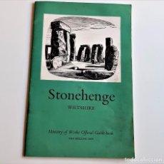 Coleccionismo de Revistas y Periódicos: REVISTA, LIBRO O GUIA STONEHENGE WILTSHIRE - 14 X 21.CM. Lote 235376235