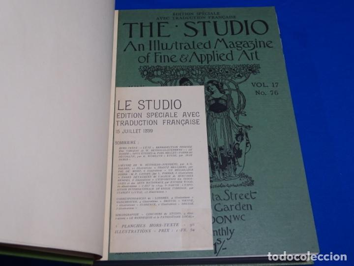 REVISTA THE STUDIO.AÑO 1899 - II (Coleccionismo - Revistas y Periódicos Antiguos (hasta 1.939))
