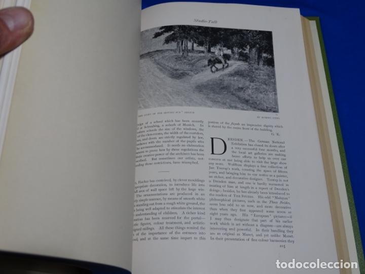 Coleccionismo de Revistas y Periódicos: REVISTA THE STUDIO.AÑO 1899 - II - Foto 2 - 222087220