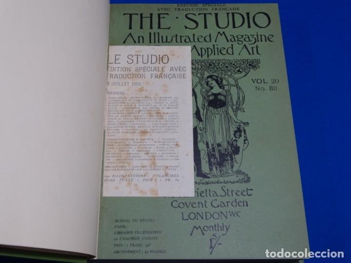 REVISTA THE STUDIO.AÑO 1900 - I I (Coleccionismo - Revistas y Periódicos Antiguos (hasta 1.939))