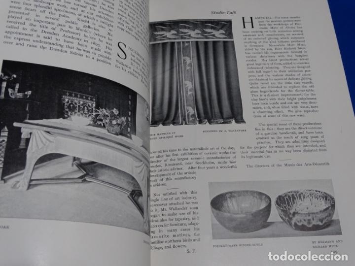 Coleccionismo de Revistas y Periódicos: REVISTA THE STUDIO.AÑO 1900 - I I - Foto 9 - 222087305